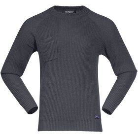 Bergans Stavali Sweat-shirt Homme, solid dark grey
